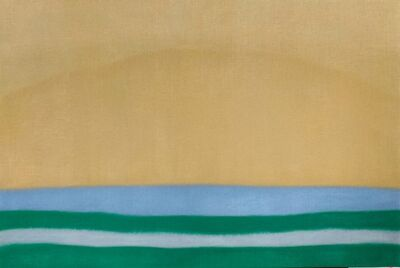 Susan Vecsey, 'Untitled (Gold / Green)', 2021