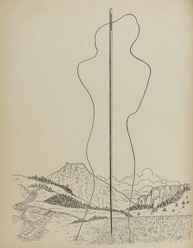 Man Ray, 'Les Mains libres', 1937