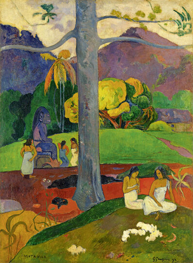 Paul Gauguin, 'Matamua (In Olden Times)', 1892