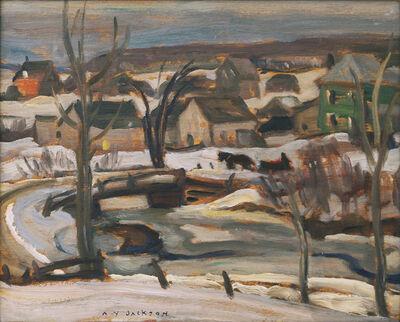 A. Y. Jackson, 'Ste-Cecile-de-Masham', ca. 1938