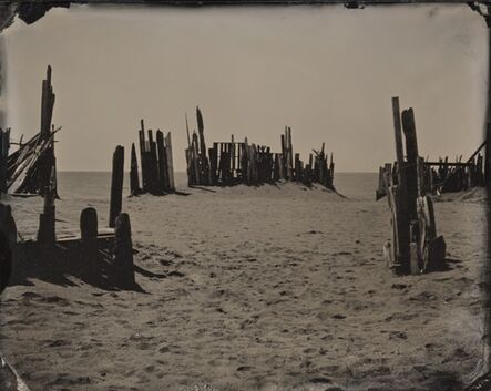 Joni Sternbach, '04.05.20 #8 Beach Barrier', 2004