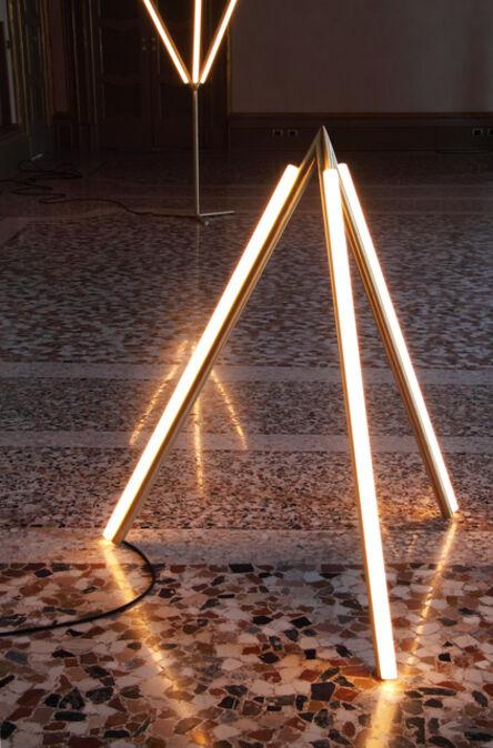 Michael Anastassiades, 'Lit Lines, Floor Light 4', 2011