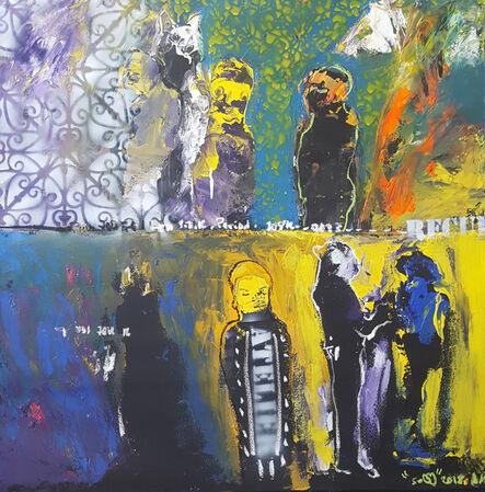 Soly Cissé, 'L'initié', 2018