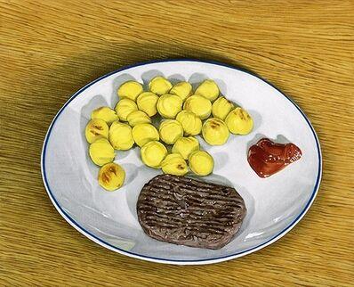 Thomas Lévy-Lasne, 'Steak haché et pommes noisette', 2021