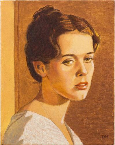 Duncan Hannah, 'The late Sylvia Kristel', 2013