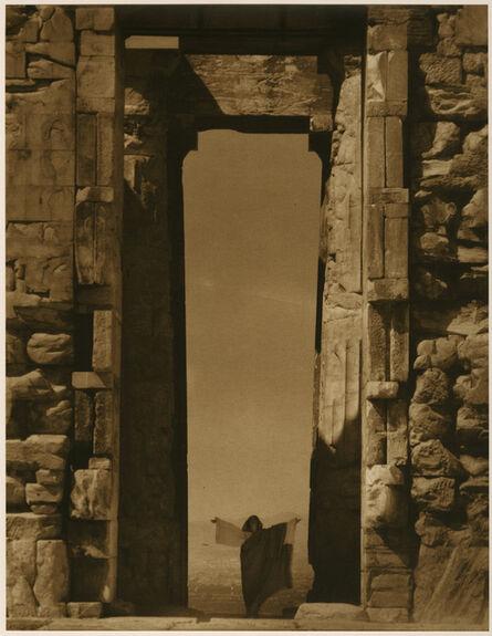 Edward Steichen, 'Isadora Duncan at the Portal of the Parthenon, Athens', 1921
