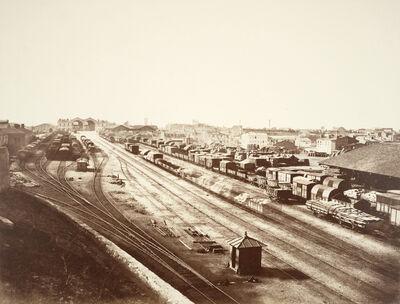 Édouard Baldus, 'Railway Station, Marseilles', ca. 1855