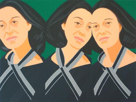 Alex Katz, 'Grey Ribbon (from Alex & Ada portfolio) ', 1990