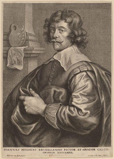 Cornelis Galle I after Sir Anthony van Dyck, 'Joannes Meyssens', probably 1626/1641