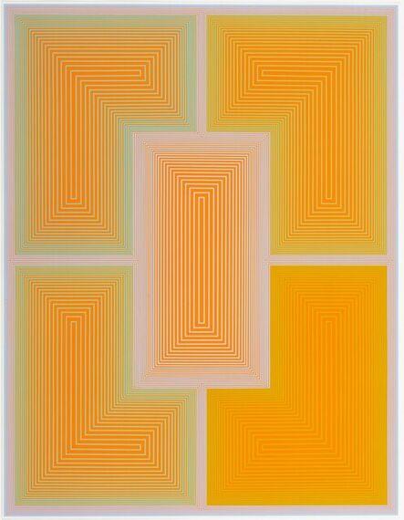 Richard Anuszkiewicz, 'Inward Eye #2, from Inward Eye', 1970