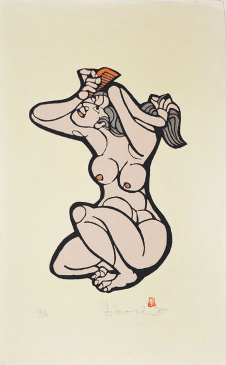 Yoshitoshi Mori, 'Combing the Hair', 1985