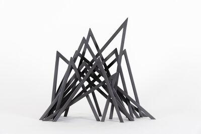 Bernar Venet, '13 Acute Unequal Angles', 2015
