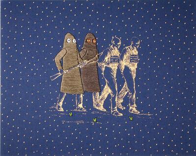 Kent Henricksen, 'Merry Marauding', 2014