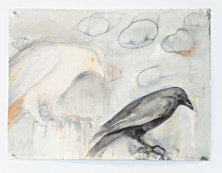 Jane Rosen, 'WHITE RAVEN BLACK RAVEN', 2016