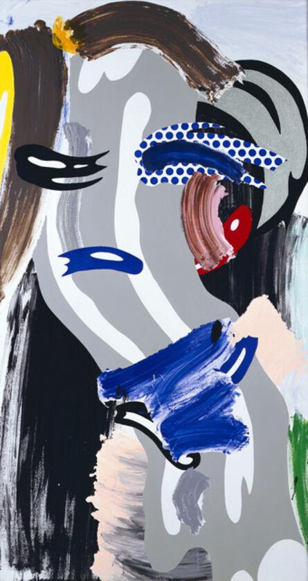 Roy Lichtenstein, 'Gray Head', 1986