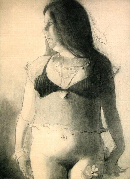 Lisa Yuskavage, 'Babie', 2004