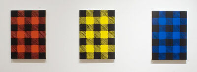 Sean Montgomery, 'Red Yellow and Blue Plaid', 2010