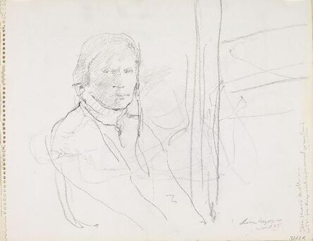 Andrew Wyeth, 'Housebound Study (2)', 1985