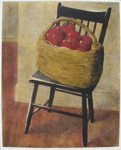 Anne Lyman Powers, 'Still Life with Chair and Basket'
