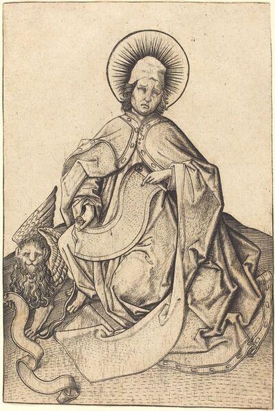 Master E.S., 'Saint Mark', ca. 1460/1465