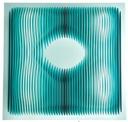 Adriana Dorta, 'Carre Vert Shockwaves. Green Square Schockwaves', 2021