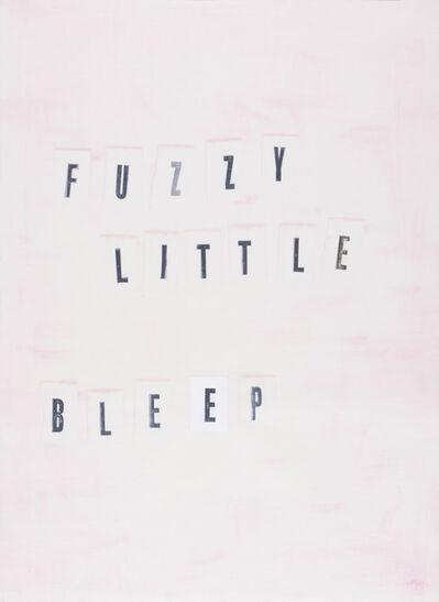 Todd Norsten, 'Fuzzy Little Bleep', 2016