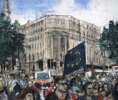 Oona Hassim, 'Remain March Central London', 2019
