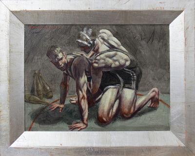 Mark Beard, 'Wrestlers', n.d.