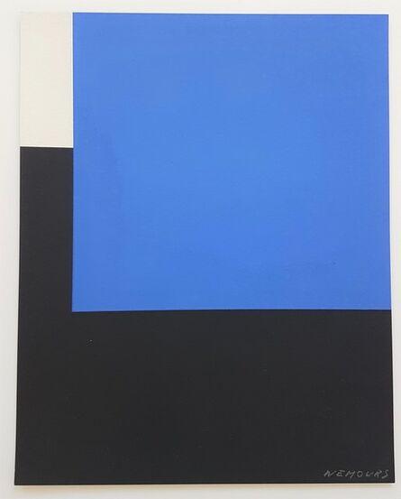 Aurelie Nemours, 'Abstract Geometric Composition (De Stijl, Neoplasticism, Geometric)', 1970-1980