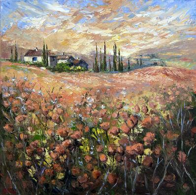Elena Bond, 'Tuscan Fields', 2016