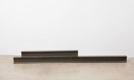 Kaz Oshiro, 'Untitled Steel Beams (2 parts)', 2016