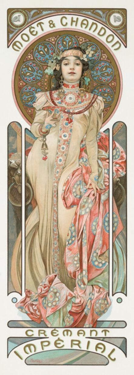Alphonse Mucha, 'MOËT & CHANDON: GRAND CRÉMANT IMPERIAL', 1892