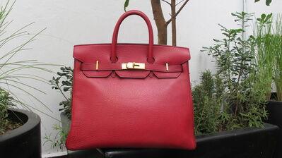 Hermès, 'Ruby Birkin Bag 30 cm', 1984