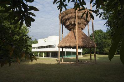 Santiago Borja, 'Sitio at Le Corbusier's Villa Savoye'