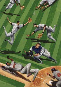 Mark ULRIKSEN, 'Baseball Ballet', 2015
