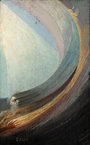 Giacomo Balla, 'Scena spirituale (uomo e donna nel fluido compenetrato di luce)', 1925-30 ca.