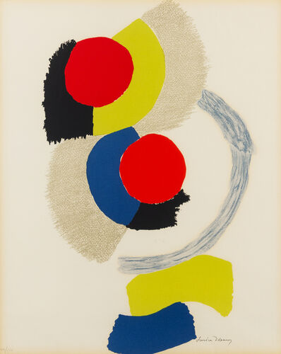 Sonia Delaunay, 'Abstract Figure'