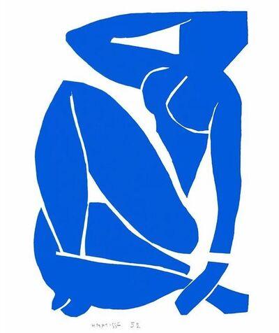 After Henri Matisse, 'Nu Bleu III', 2007