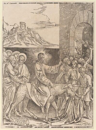 Francesco Denanto, 'Christ's Entry into Jerusalem'