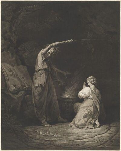 John Dixon after John Hamilton Mortimer, 'Incantation', 1773