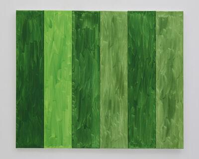 Benjamin Butler, 'Green Forest (in six parts) ', 2019