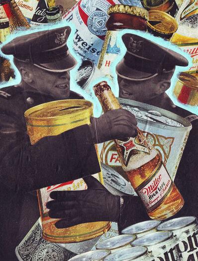 """Ray Sell, '""""Beer Hug""""', 2017"""