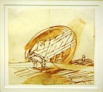 Itzhak Danziger, 'Sheepfold', ca. 60