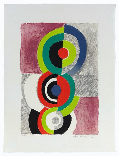 Sonia Delaunay, 'Les trois Grâces', 1972