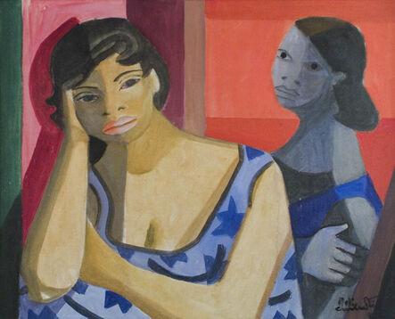 Emiliano Di Cavalcanti, 'DUAS MULHERES', 1962