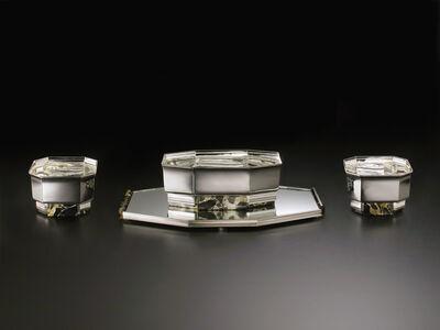 Cardeilhac, 'Art Deco set of four centerpieces', ca. 1930