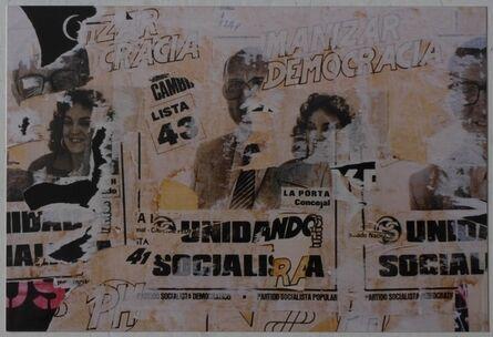 """Facundo de Zuviría, 'From the series """"Estampas porteñas"""", """"Democracy""""', 1987"""