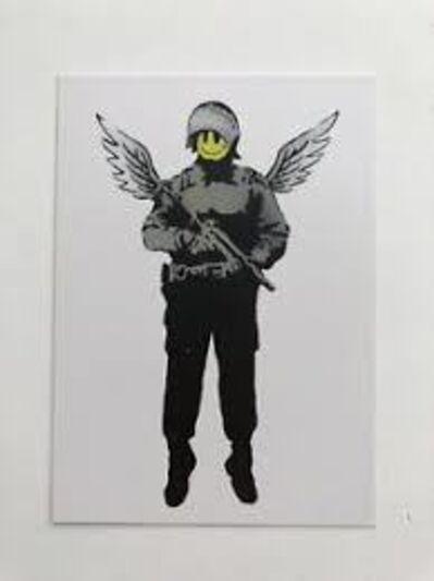 Banksy, 'Angel Cop (Flying Copper) 2005', 2007