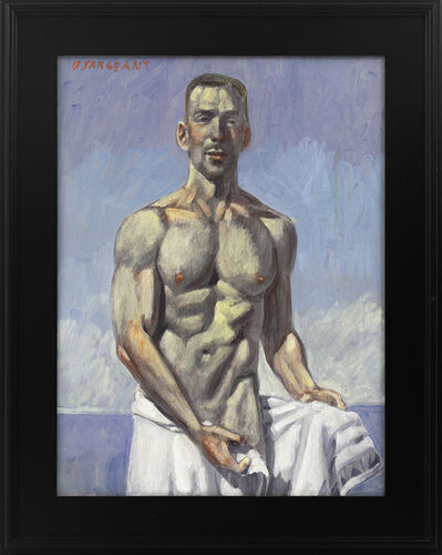 Mark Beard, '[Bruce Sargeant (1898-1938)] Julian Coming Out of the Water', n.d.