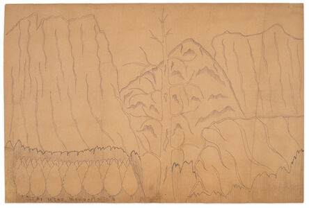 Joseph Yoakum, 'Altai Mtns. Mongolia Asia', ca. 1965